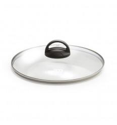 Coperchio in vetro con pomolo cm.24 - Fortezza