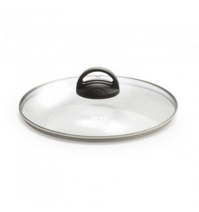 Coperchio in vetro con pomolo cm.18 - Fortezza