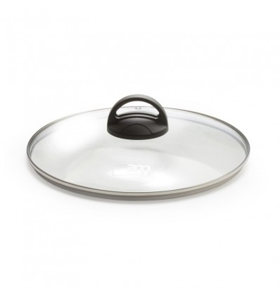 Coperchio in vetro con pomolo cm.32 - Fortezza