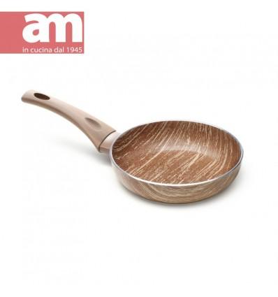 Padella antiaderente effetto legno cm.18 - ARBOREA