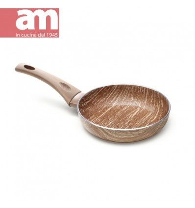 Padella antiaderente effetto legno cm.22 - ARBOREA