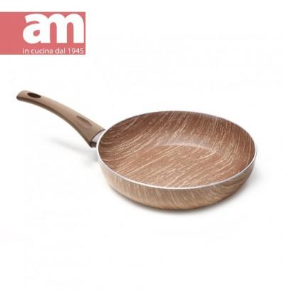 Padella antiaderente effetto legno cm.32 - ARBOREA