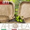 Batteria Antiaderente effetto legno 12 PEZZI - ARBOREA